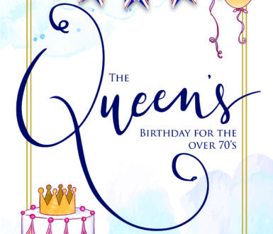 Queens Birthday Flyer