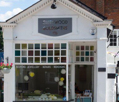 Greenwood ~~Goldsmiths Shopfront