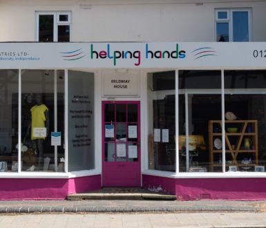 Helping Hands shopfront