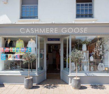 Cashmere Goose Shopfront