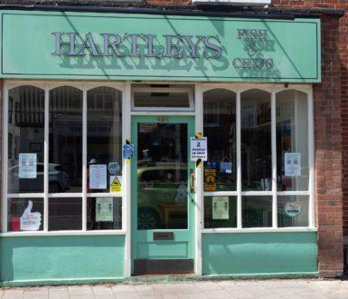 Hartley Fish & Chips Shopfront