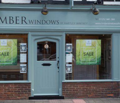 Timber Doors and Windows Shopfront