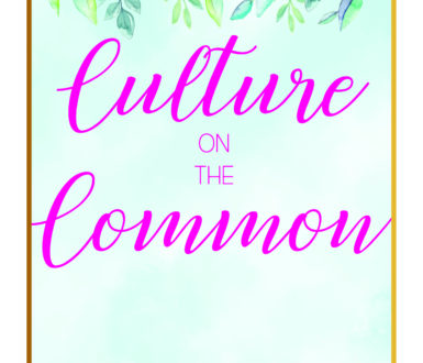 Culture On The Common Flyer