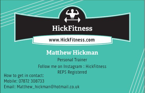 Matthew Hickman Business Card