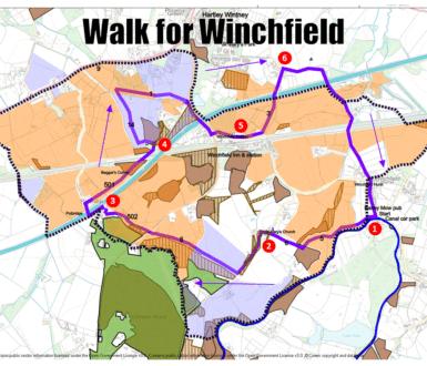 Walk For Winchfield